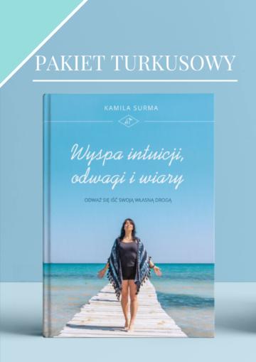 Książka- Wyspa intuicji, odwagi i wiary