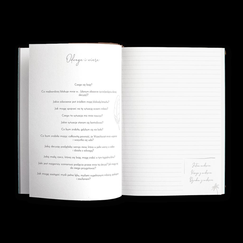 dziennik intuicji wnętrze