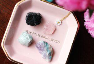 kamienie na miłość różowy kwarc